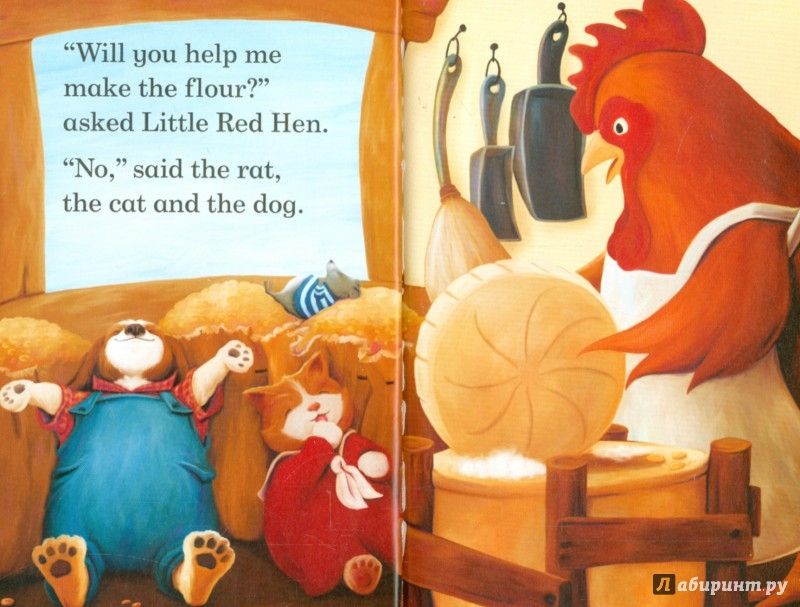 Иллюстрация 1 из 16 для Little Red Hen (HB) | Лабиринт - книги. Источник: Лабиринт