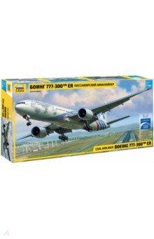 Купить Сборная модель. Пассажирский авиалайнер Боинг 777-300 ER (7012), Звезда, Пластиковые модели: Авиатехника (1:144)