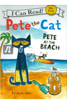 Pete the Cat. Pete at the Beach