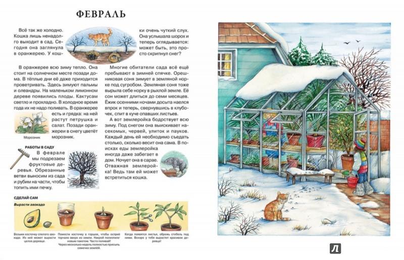 Иллюстрация 1 из 48 для Год в саду - Сюзанна Риха | Лабиринт - книги. Источник: Лабиринт