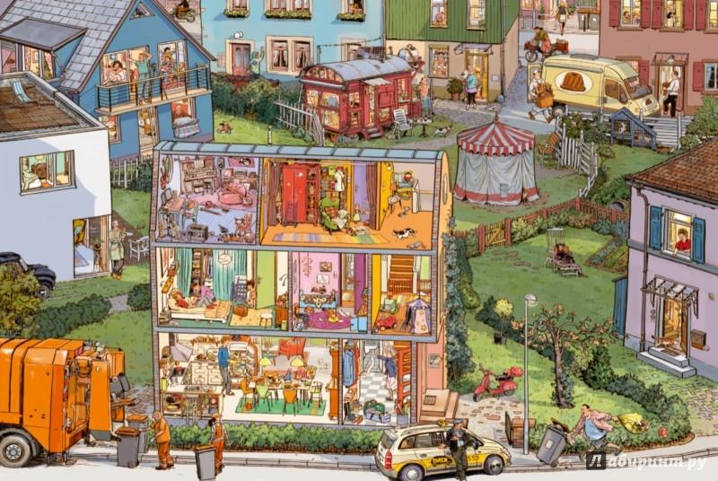Иллюстрация 1 из 33 для Соседи (виммельбух) - Доро Гёбель | Лабиринт - книги. Источник: Лабиринт