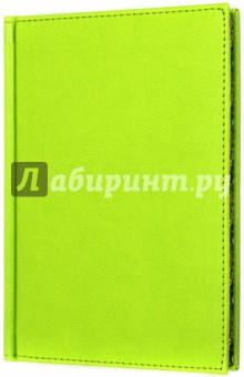 Ежедневник недатированный НАПА (САЛАТОВЫЙ, цветной обрез) (38132-15) желай делай ежедневник