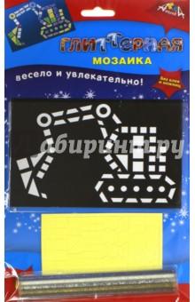 Мозаика глиттерная А6 Экскаватор (С2615-05) мозаика апплика мозаика глиттерная а6 слон