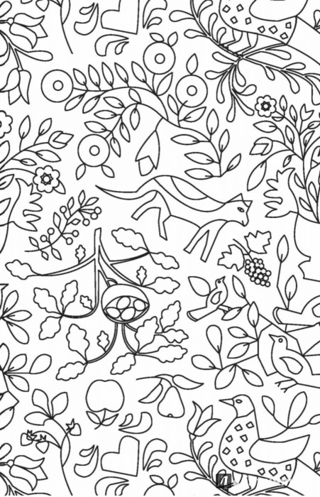 Иллюстрация 10 из 84 для Кототерапия. Мини-раскраска-антистресс для творчества | Лабиринт - книги. Источник: Лабиринт