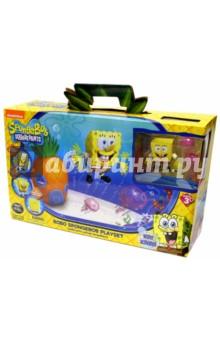 Набор Спанч Боб с аквариумом и домиком (5302) robofish игрушка для ванны спанч боб
