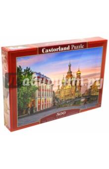 Puzzle-500 Храм в Санкт-Петербурге (B-52257) пазлы castorland пазл храм в санкт петербурге 500 элементов