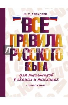 Все правила русского языка для школьников в схемах и таблицах матвеев сергей александрович все правила русского языка для школьников с приложениями