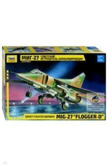Советский истребитель-бомбардировщик МиГ-27 (7228) classic world классический самолет 27 деталей