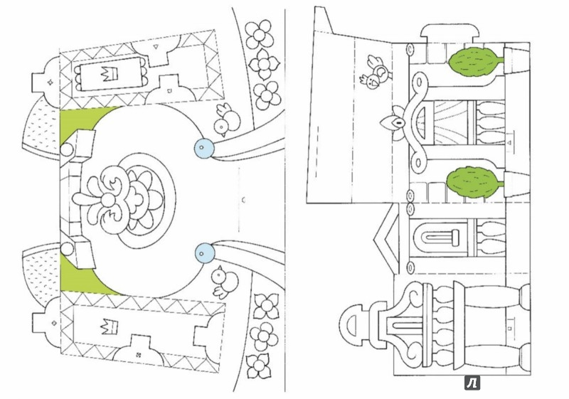 Иллюстрация 1 из 17 для Дворец принцессы. Книга-игра - Ханс-Иоахим Бланк | Лабиринт - игрушки. Источник: Лабиринт