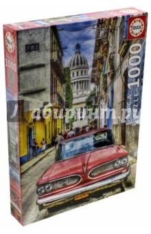 Пазл-1000 Винтажное авто в старой Гаване (16754) educa пазл пекарня
