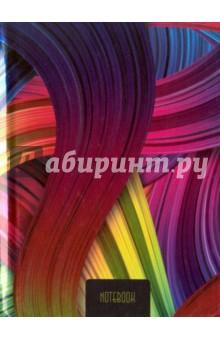 Книга для записей, 80 листов, А6 Разноцветные нити (КЗГ6801867) записные книжки канц эксмо книга для записей с поролоном 80 листов орнамент разноцветные зонтики