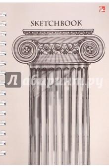 """Скетчбук 100 листов,евроспираль """"Классический стиль"""" (ТС51004307) Эксмо-Канц"""