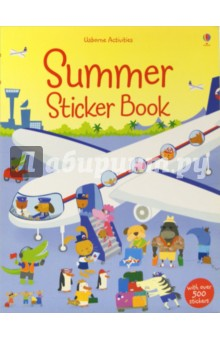 Summer Sticker Book amazing adventures sticker book