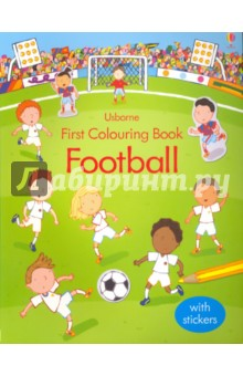 First Colouring Book. Football first colouring book nativity