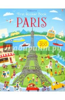 First Sticker Book. Paris