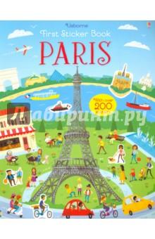 Купить First Sticker Book. Paris, Usborne, Книги для детского досуга на английском языке