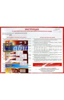 Комплект плакатов Инструкции по правилам безопасности в образовательной организации. ФГОС