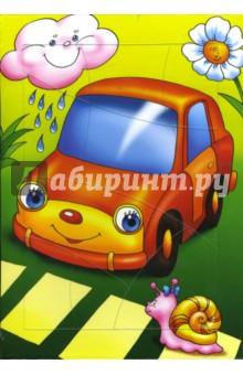 """Развивающая рамка """"Автомобильчик"""" (1199)"""