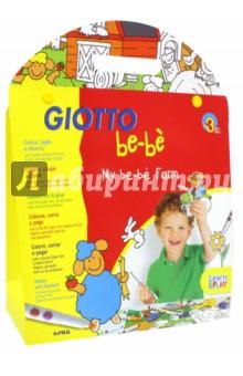 Набор для раскрашивания Giotto be-be Ферма. С фломастерами (465600)