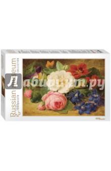 Step Puzzle-1000 Иозеф Лаунер. Букет цветов с улиткой (79211) пазл 73 5 x 48 8 1000 элементов printio осенний пейзаж константин коровин