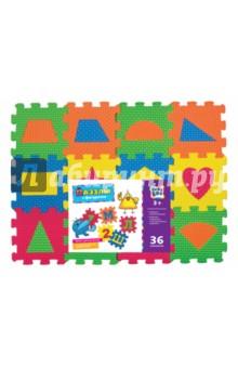 Купить Пазлы с фигурами (36 элементов) (62690), KriBly Boo, Пазлы (12-50 элементов)