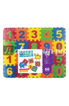 Купить Пазлы с цифрами (60 элементов) (62684), KriBly Boo, Пазлы (54-90 элементов)