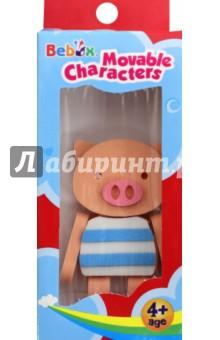 Купить Поросенок. Подвижный персонаж (Р3001), Bebox, Конструкторы из пластмассы и мягкого пластика