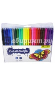 Фломастеры, 24 цвета. БАБОЧКИ (877064-24) от Лабиринт