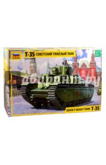 Купить Советский тяжелый танк Т-35 (3667), Звезда, Бронетехника и военные автомобили (1:35)