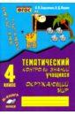 Тематич. контроль знаний учащихся Окруж. мир 4кл, Барылкина Л. П.,Перова О. Д.