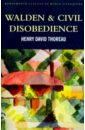 Thoreau Henry David Walden & Civil Disobedience