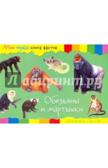 Обезьяны моя первая книга фактов кошки