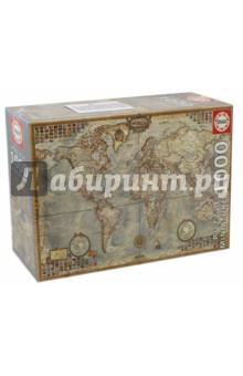 Пазл-1000 Политическая карта мира (16764) пазлы educa пазл политическая карта мира 1000 элементов