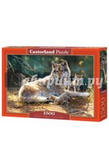 Puzzle-1500 Волки (C-151400) puzzle 1500 лондон c 151271