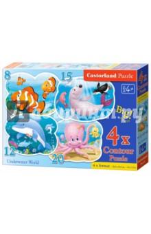 "Puzzle-8х12х15х20 ""Подводный мир"" (В-043026)"