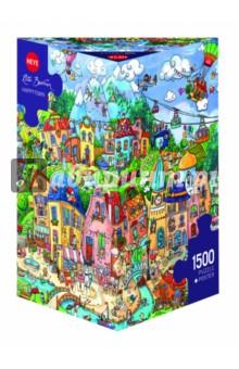 Купить Puzzle-1500 Счастливый город (29744), Heye, Пазлы (1500 элементов)