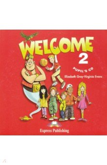Welcome 2. Pupil's CD (CD) traveller elementary аудиокурс на 3 cd