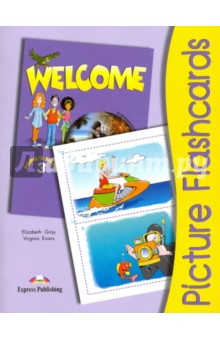 Welcome 3. Picture Flashcards little friends flashcards набор из 21 карточки
