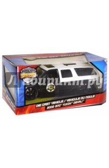 Модель автомобиля 2002 Yukon Denali XL Police 1:24 (96367) Jada