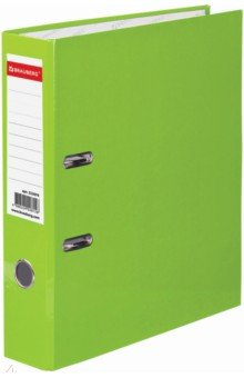 Папка-регистратор (80 мм, светло-зеленая) (222070)