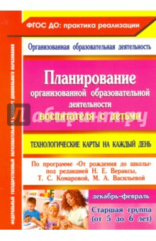 Планирование организованной образовательной деятельности воспитателя с детьми старшей гр. ФГОС ДО