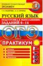 ОГЭ 2017. Русский язык. Практикум. Подготовка к выполнению заданий части 6-14