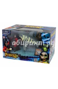 Pirates. Игровой набор: Пираты, нападение акулы (505202-1) Март-игрушки