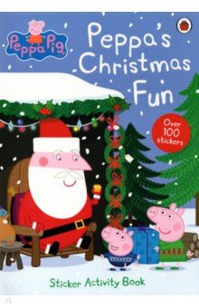 Peppa Pig. Peppa's Christmas. Sticker Book tilly and friends play all day sticker activity book