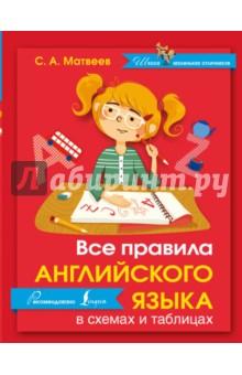 Все правила английского языка в схемах и таблицах книги издательство аст все правила немецкого языка в схемах и таблицах