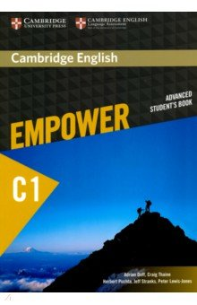 Cambridge English Empower. Advanced Student's Book. C1 купить