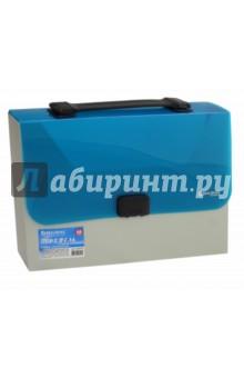 Пластиковый портфель без отделений. А4 (224149) портфель office point exclusive пластиковый картотека на 12 отделений
