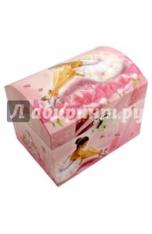 Шкатулка музыкальная Сидящая балерина (40000(40974) шкатулка giglio шкатулка для украшений музыкальная gig 301 kz lb