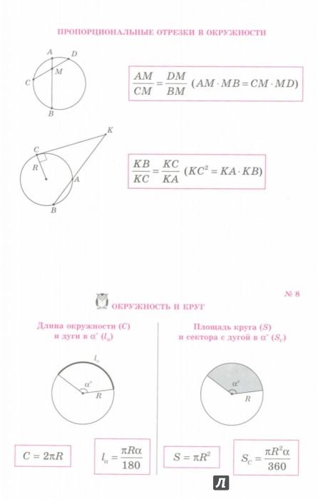 Иллюстрация 1 из 3 для Все формулы по геометрии - Марина Томилина | Лабиринт - книги. Источник: Лабиринт