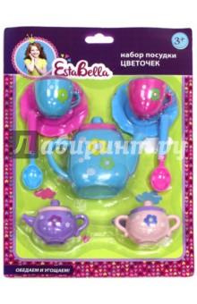 """EstaBella. Набор детской посудки """"Цветочек"""" (64712)"""